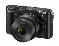 Nikon 1 V3 with 20fps! & two new lenses